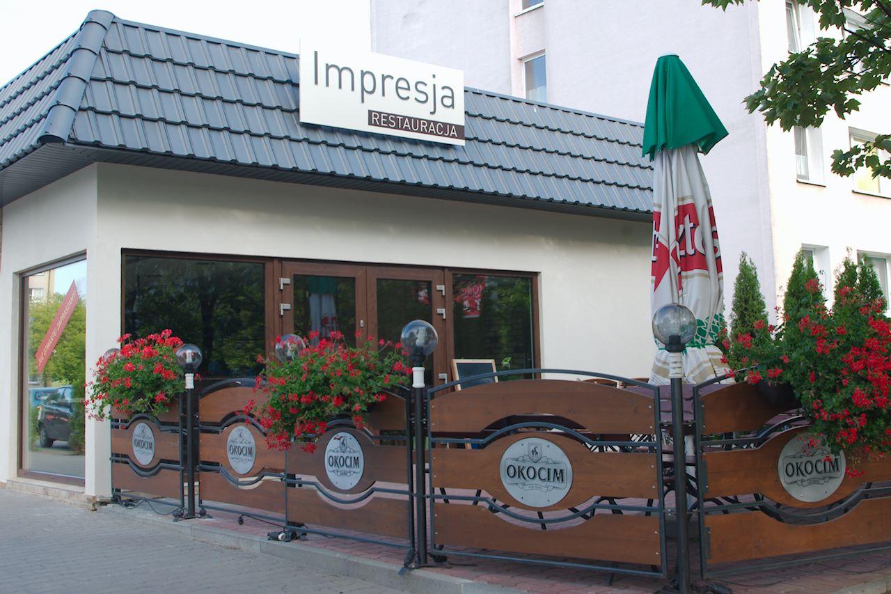 Restauracja Impresja Poznań Obiady Przyjęcia Imprezy